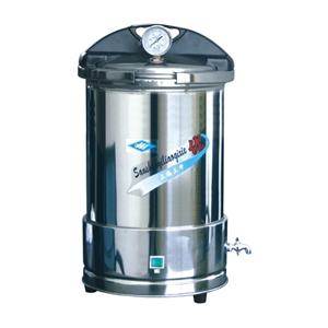 YX280手提式不锈钢压力蒸汽灭菌器(防干烧)(防干烧 不锈钢)