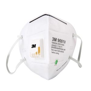 3M9001V自吸过滤式防颗粒物防尘透气防PM2.5雾霾粉尘口罩