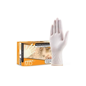 爱马斯TLFCVMD 一次性医用橡胶检查手套
