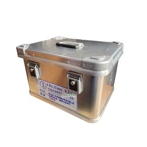 华夏将军铝制生物安全运输箱HX-L10