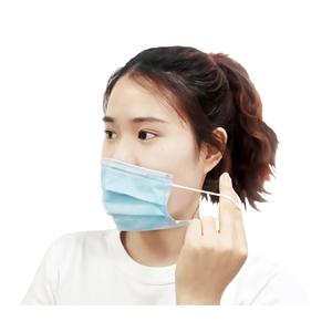 博科一次性熔喷布口罩中文10只装