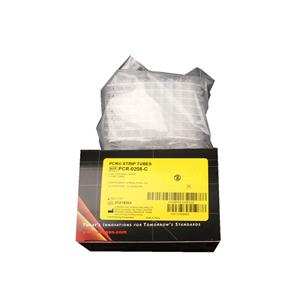 愛思進  PCR-0208-C   0.2mlPCR無色薄壁8聯管