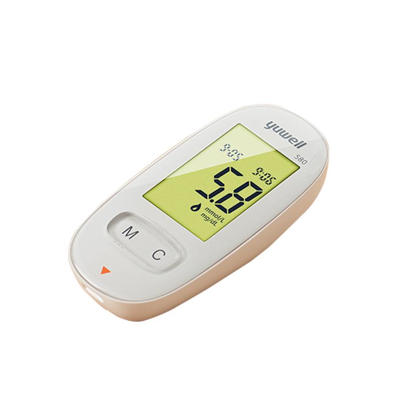 鱼跃血糖仪580超值套装 优品特价 欲购从速(语音播报  免调码  测量准确 580型标准装(1个血糖仪+100个试纸+100个针头))